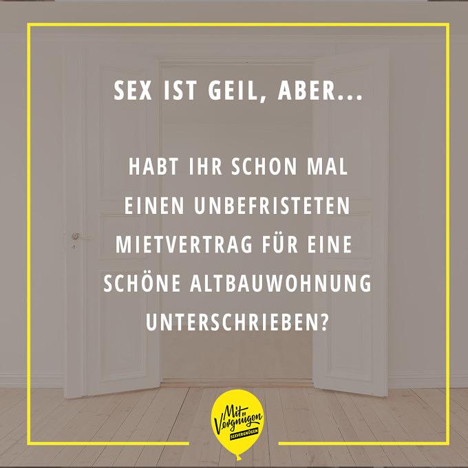 Sex ist geil, aber Sexvergnügen