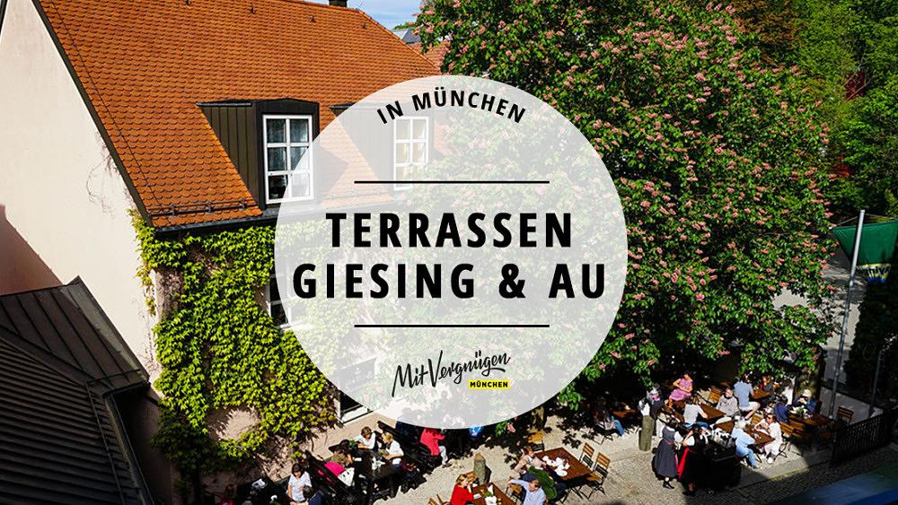 Terrassen Giesing Bars Restaurants Cafés Draußen Essen