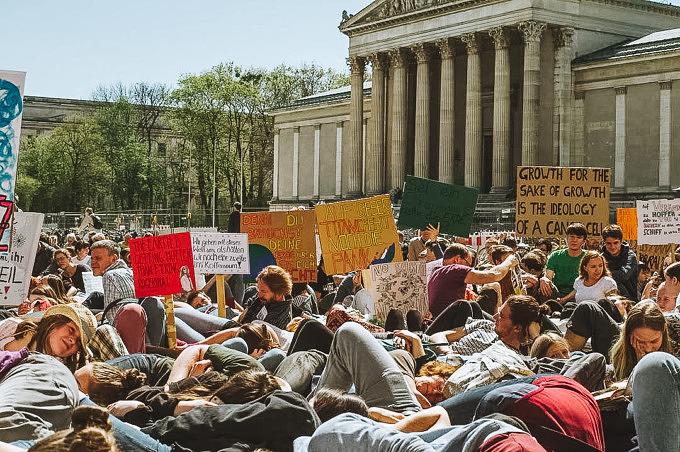 Initiative klimafreundliche Extinction Rebelion
