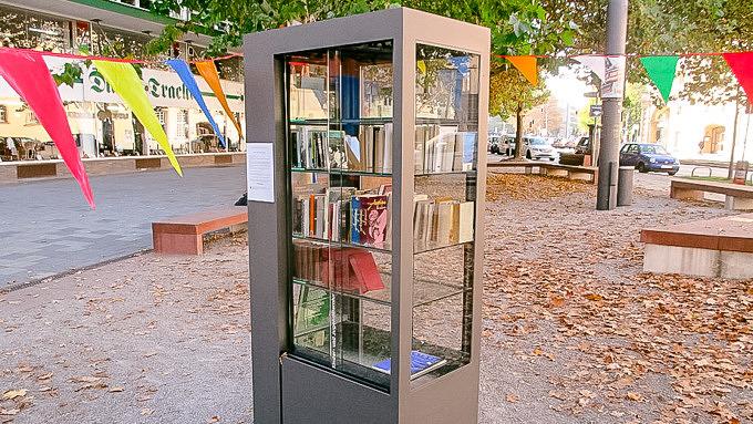 Bücherschränke Maxvorstadt