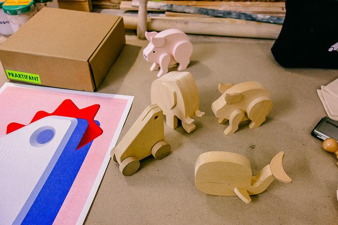 Praktifant Holz Spielzeug