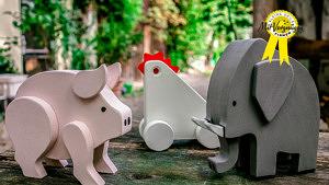 Holz Spielzeug Praktifant 1