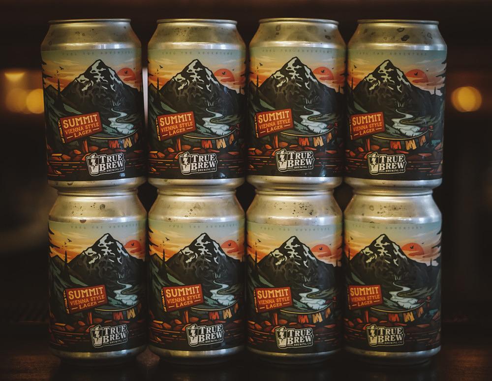 True Brew Taproom Bier
