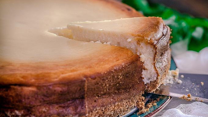 Käsekuchen Kuchen vegan