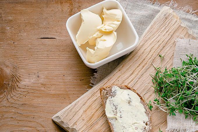 Butter Butterbrot Nachhaltigkeit
