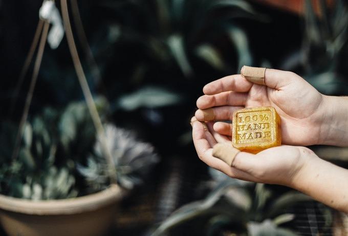 Zero Waste Nachhaltigkeit Seife Selfmade