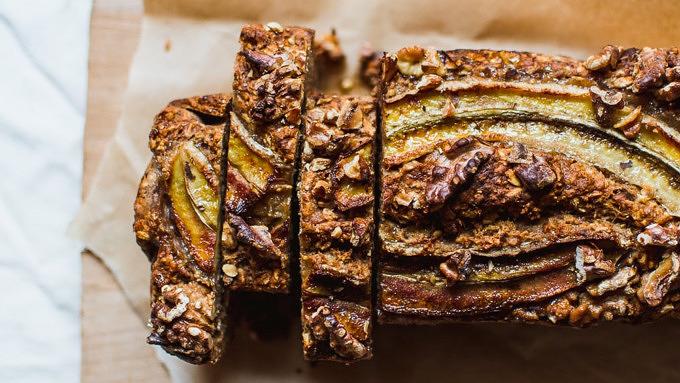 Bananenbrot veganer Kuchen