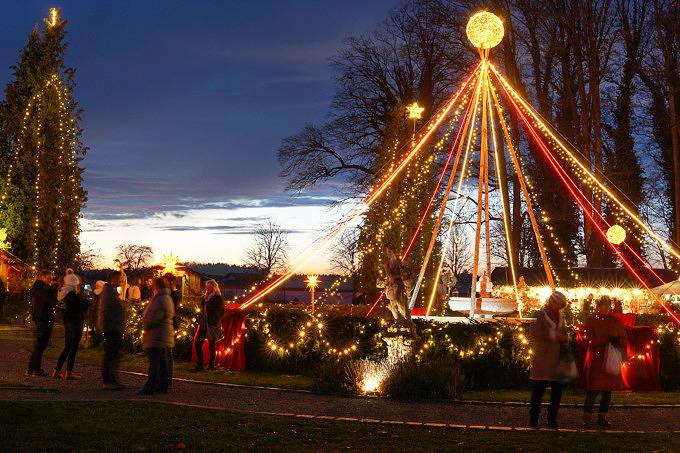 Tüsslingen Weihnachtsmarkt Umland München