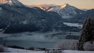Tegernsee Berge Winter