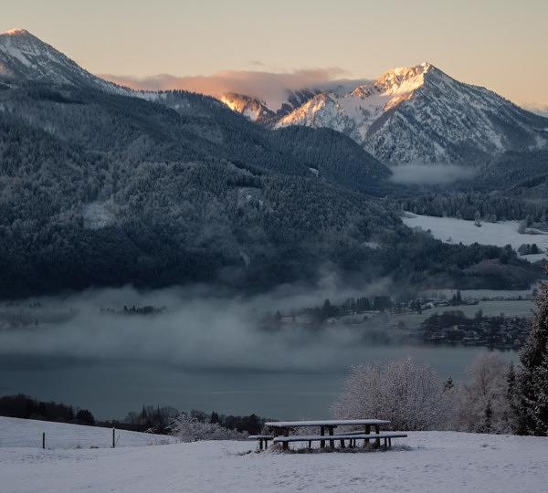 Tegernsee Berge Winter