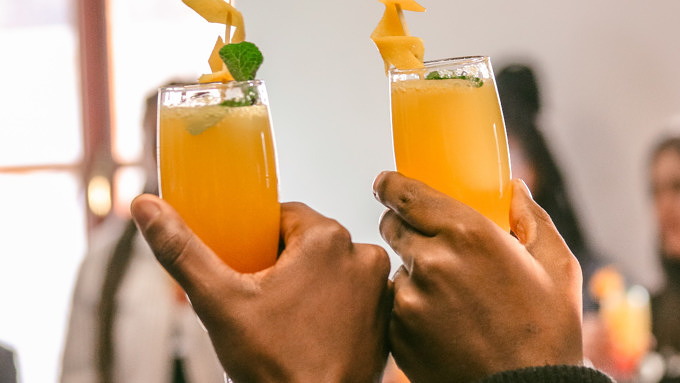 Mimosa Orangensaft Sekt