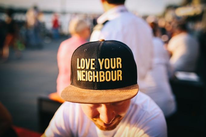 Nachbarn Nachbarschaft Gemeinschaft Helfen