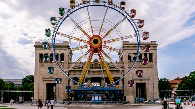 Königsplatz Sommer in der Stadt