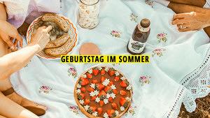 Geburtstag im Sommer