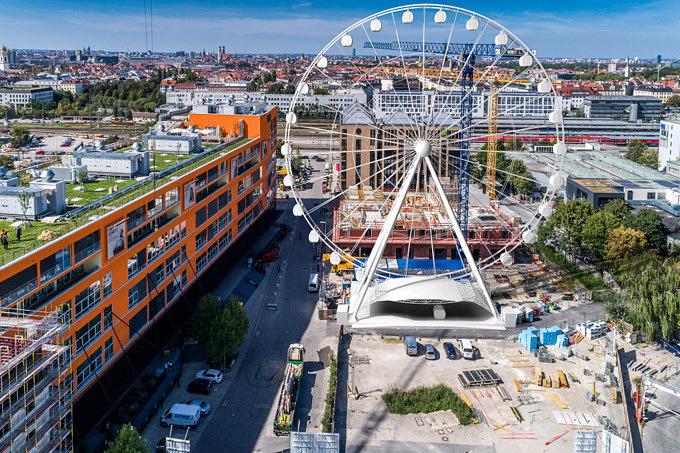Hi-Sky München: Das Werksviertel bekommt ein gigantisches Riesenrad