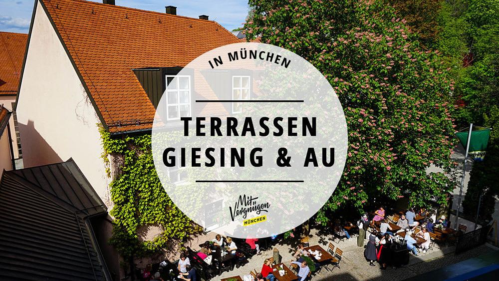 Terrassen Giesing Au Ayinger in der Au