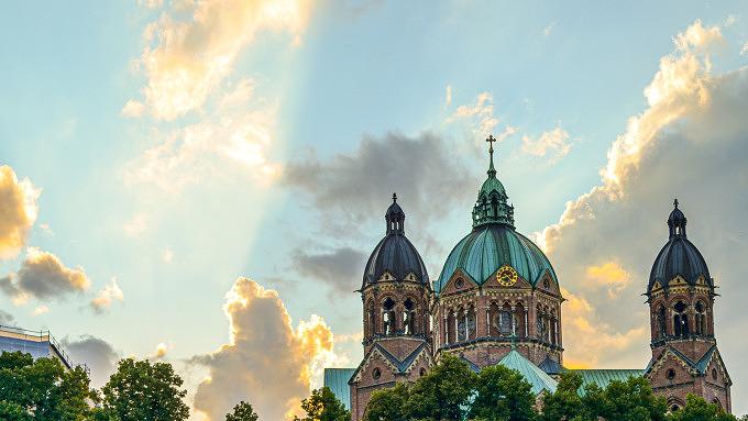 Kabelsteg St. Lukas Kirche