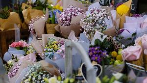Blumen Laden Kauf Lokal