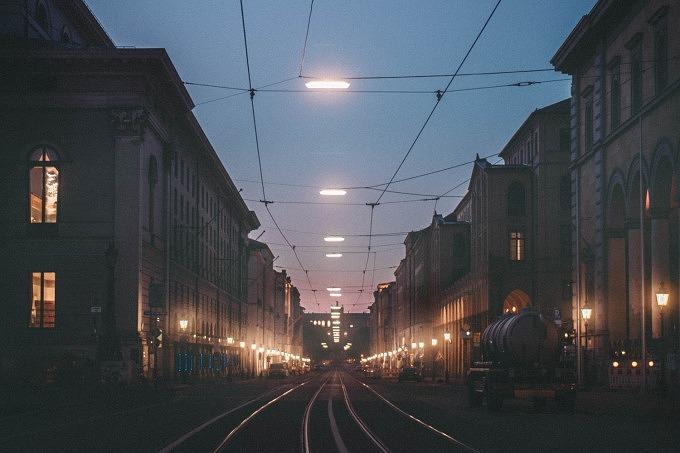 Nachts München Nacht-Spaziergang