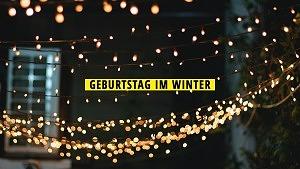 Geburtstag im Winter
