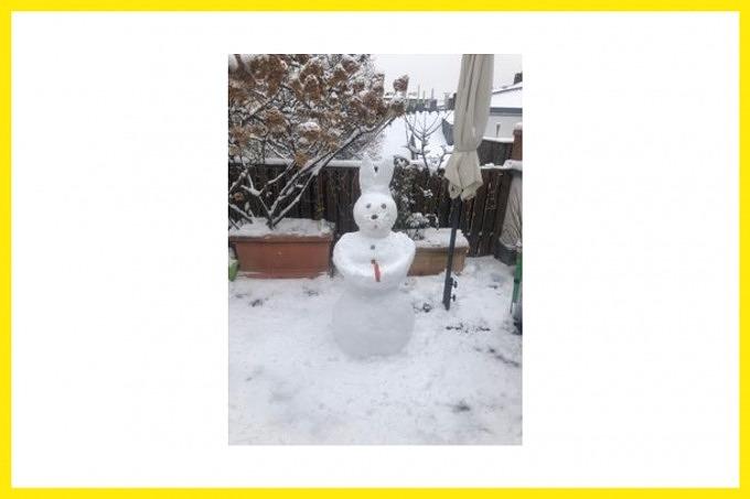 Schneefiguren