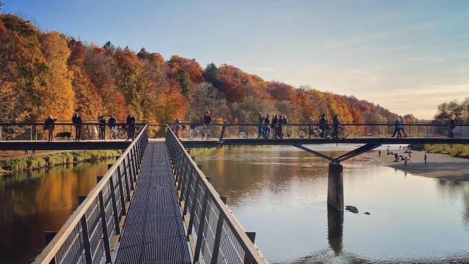 Marienklausenbrücke Isar
