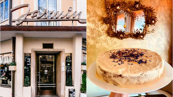 Café Jasmin Karottenkuchen