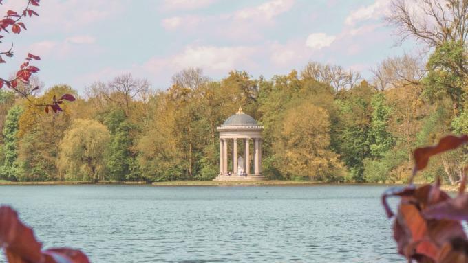 Apollo Tempel im Schlosspark Nymphenburg