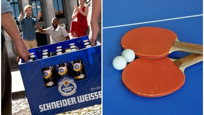 Tischtennis Schneider Weisse