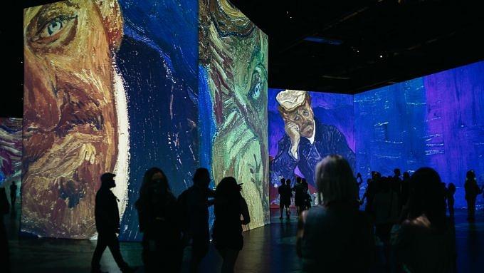 Van Gogh Experience Ausstellung Utopia.