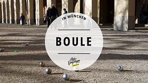 Boule spielen im Hofgarten